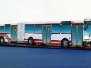 Ikarus 435 Bus Free Vehicle Paper Model Download