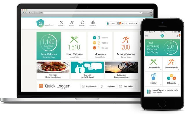 Our Favorite Apps That Make Weight Loss Easier: NuMi Diet App and Online Weight Loss Tool