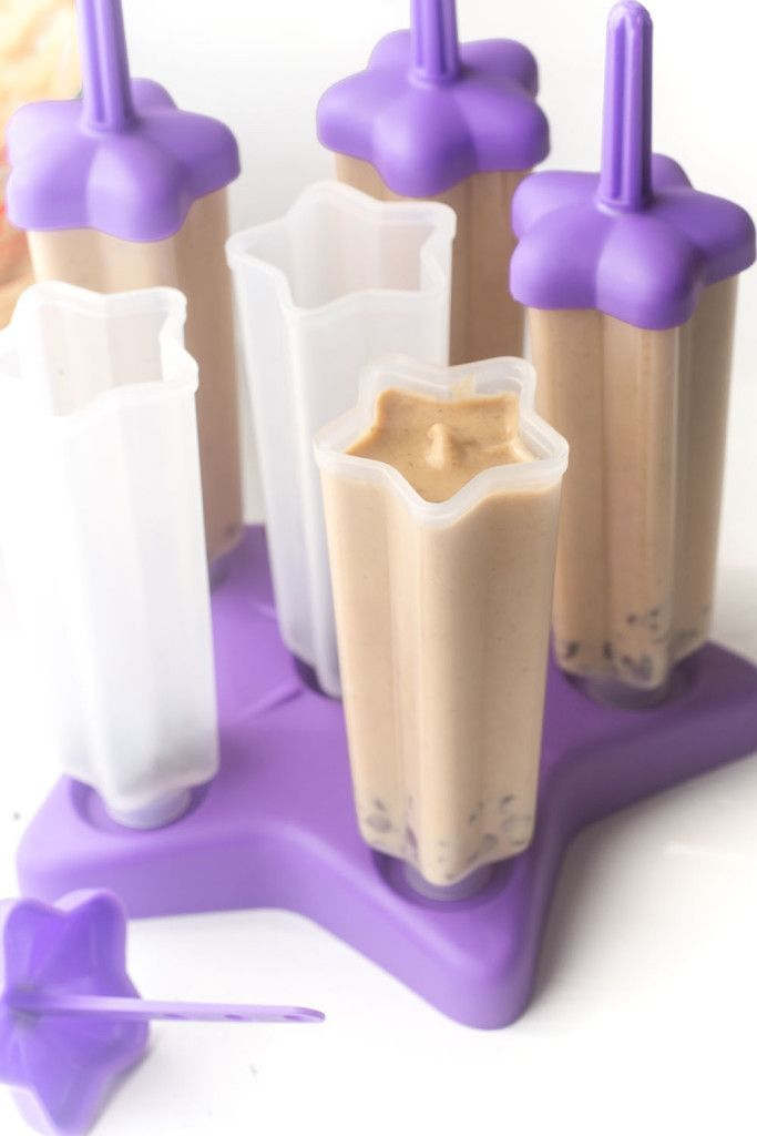 Peanut Butter Banana Yogurt Popsicles are a healthy way to cool down this summer! Rich, creamy and the perfect healthy treat for your sweet ...