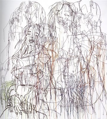 Ghada Amer...love at first sight at the pompidou