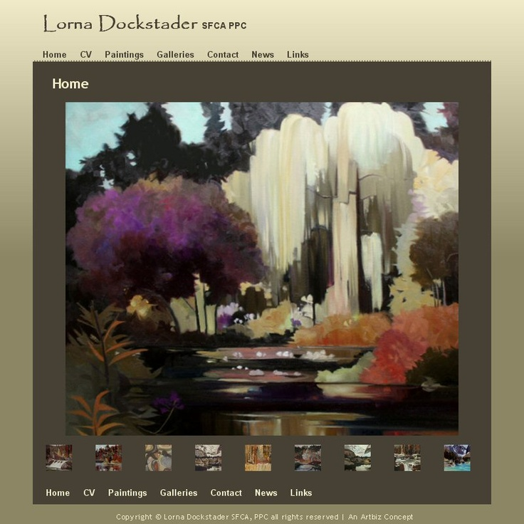 Lorna is an artist who works in a variety of media. Her current body of work includes the visual elements of  shape, pattern, colour, and contrasts.  Visit Lorna's site http://lornadockstader.com/