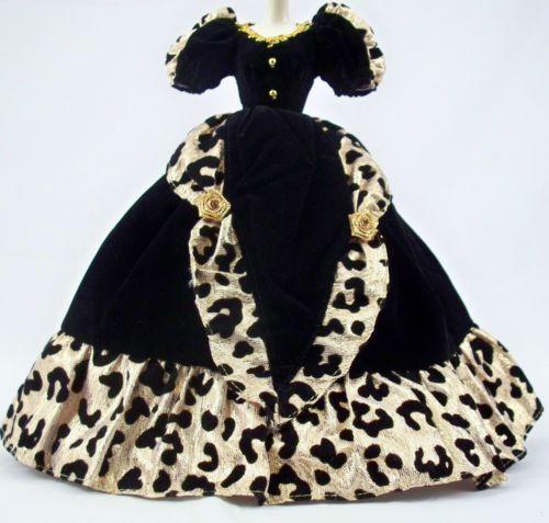 Barbie Black Leopard Gown Wholesale Club Exclusive 2001 Costco Canada