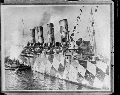 RMS Mauritania NYC
