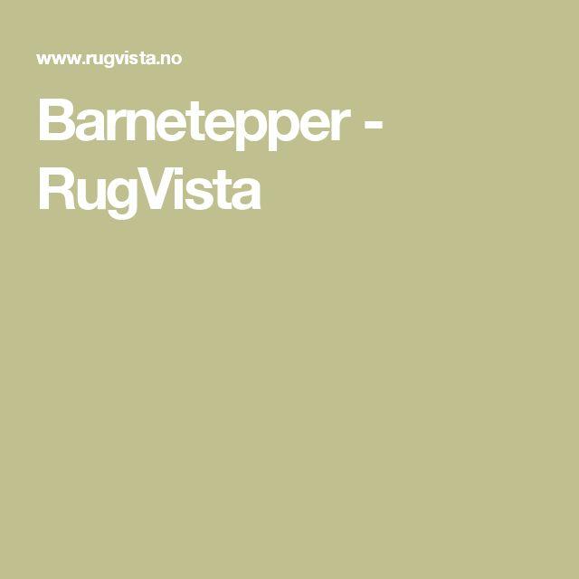 Barnetepper - RugVista