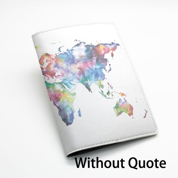<b>PU Leather Passport</b> Holder Case Cover <b>Travel</b> Wallet -- Colorful ...