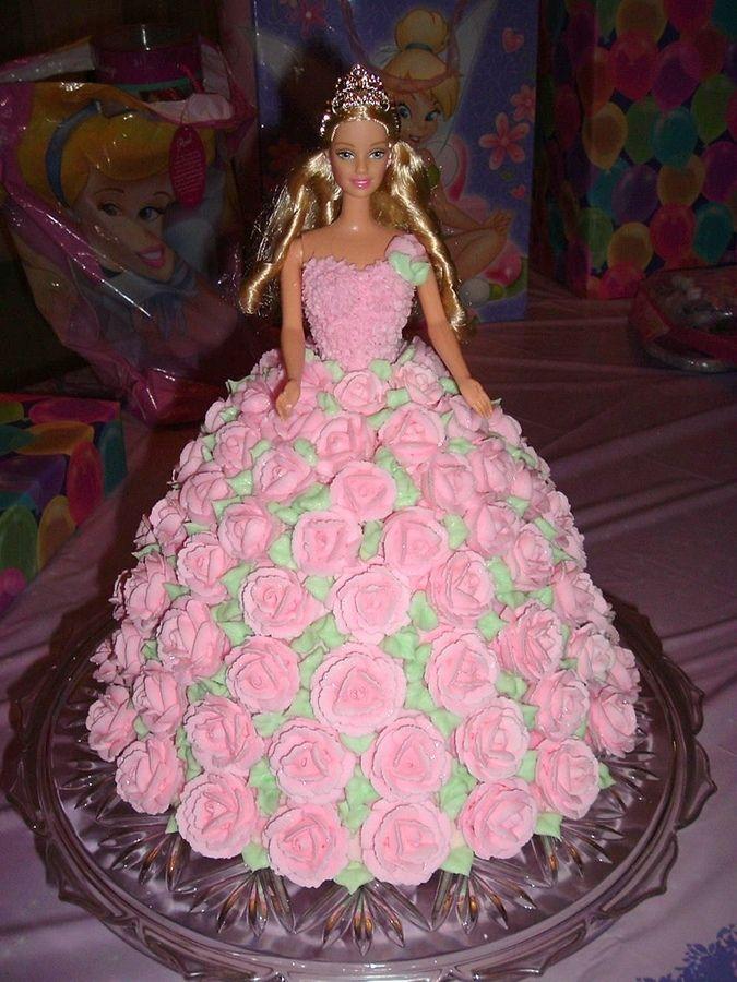 358 Best All Barbie Cakes Images On Pinterest Barbie Doll Barbie