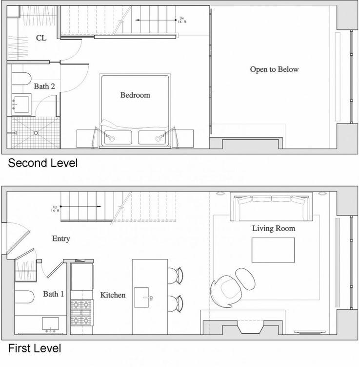 Home une chambreduplexplans