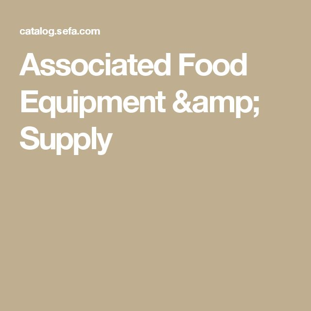 Associated Food Equipment & Supply