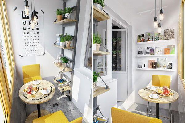 Balc n cerrado en apartamento peque o terrazas for Ideas para apartamentos pequenos