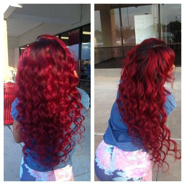 red ariel hair. Soooon, mine will be too!