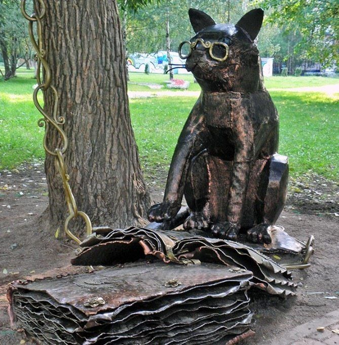 Учёный кот Санкт-Петербург