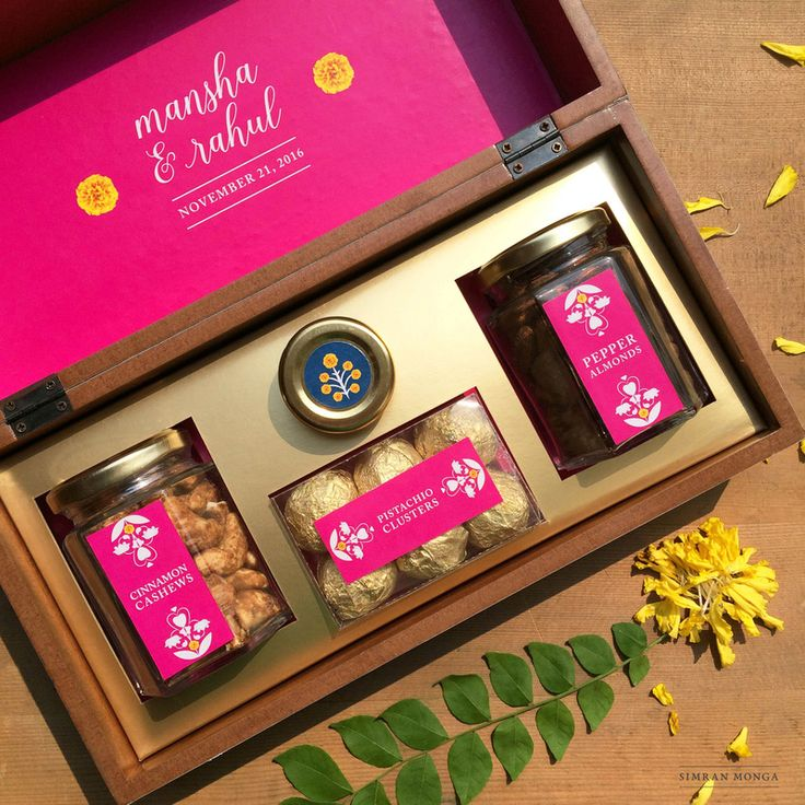 NEW Unique Food Favours To Distribute With Your Wedding Card! | WedMeGood - Best Indian Wedding Blog for Planning & Ideas.