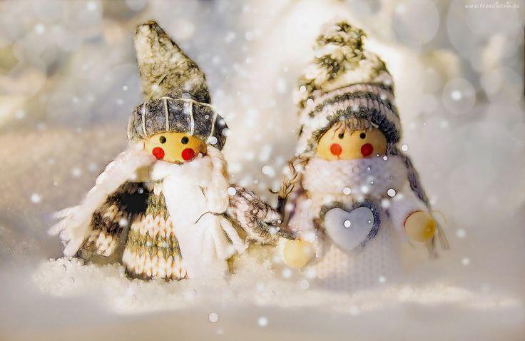 Zima, Laleczki, Śnieg