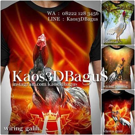 Kaos AYAM BANGKOK, Kaos3D, Kaos Ayam Aduan, Kaos AYAM JAGO, Kaos ANIMAL, Binatang, https://instagram.com/kaos3dbagus, WA : 08222 128 3456, LINE : Kaos3DBagus