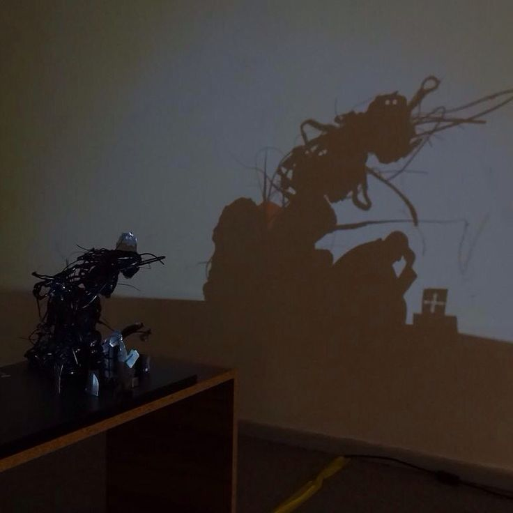 Shadow art by Triantafyllos Vaitsis