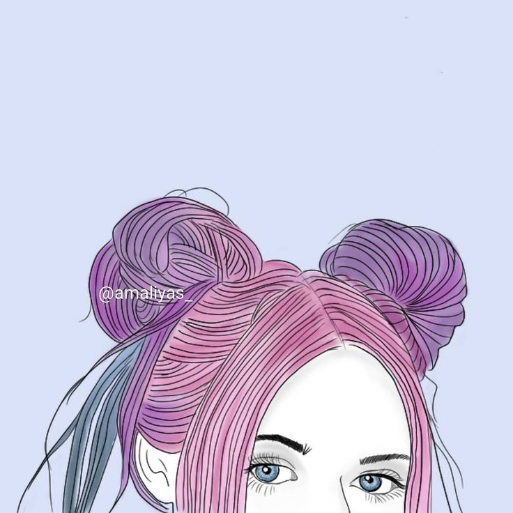 Best Tumblr O U T L I N E S Images On Pinterest Art - Hairstyle drawing tumblr