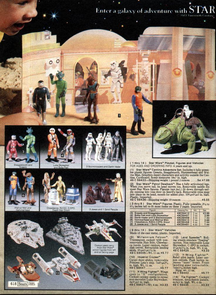 vintage catalog pages