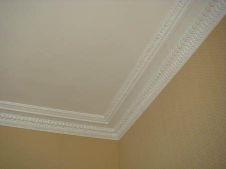 Een witte plafond zou ook mooi staan