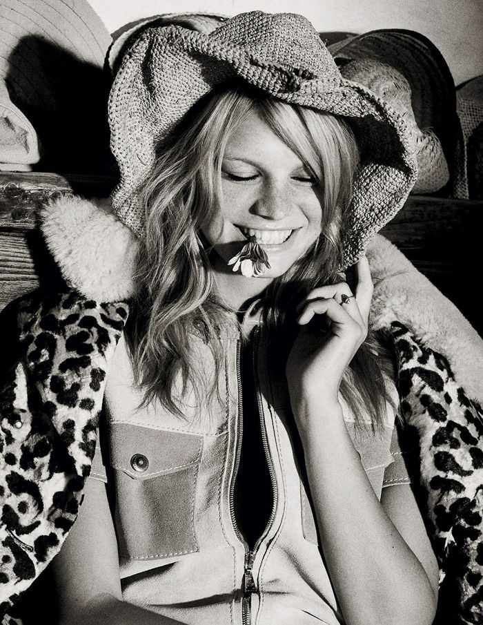 Nadine Leopold Delivers 'Sweet Symphony' Lensed By David Burton For Elle Italia March 2015