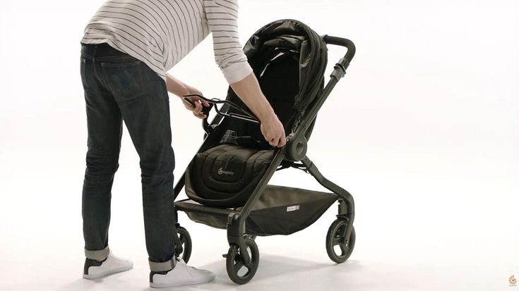 How to set up the Ergobaby 180 Reversible Stroller in 4 easy steps
