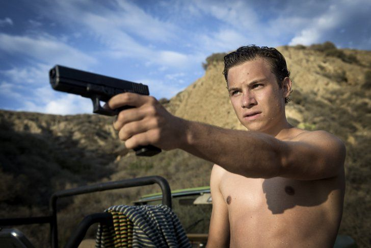 Pin for Later: 37 Shirtless TV Moments From 2016 That You Need to See Again Animal Kingdom And shirtless Finn Cole.