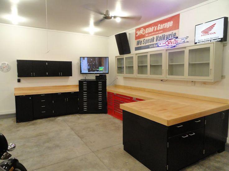 Wooden Garage Workbench Plans Ideas Kits And Patterns Work