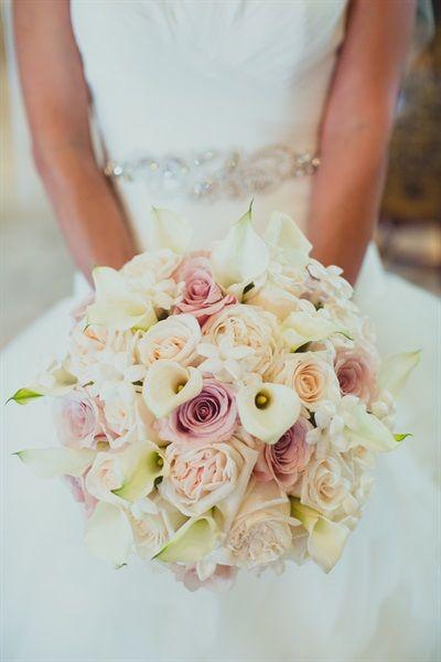 Pastel wedding bouquet   A Persian Wedding that Will Make Your Heart Skip a Beat - Gallery - TheBigFatIndianWedding.com