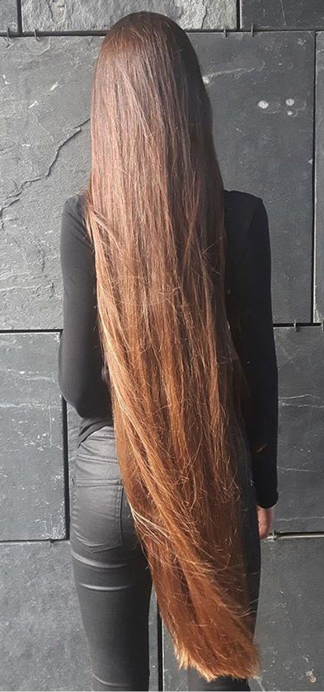 very long, straight and g simply gorgeous. | hair yeah