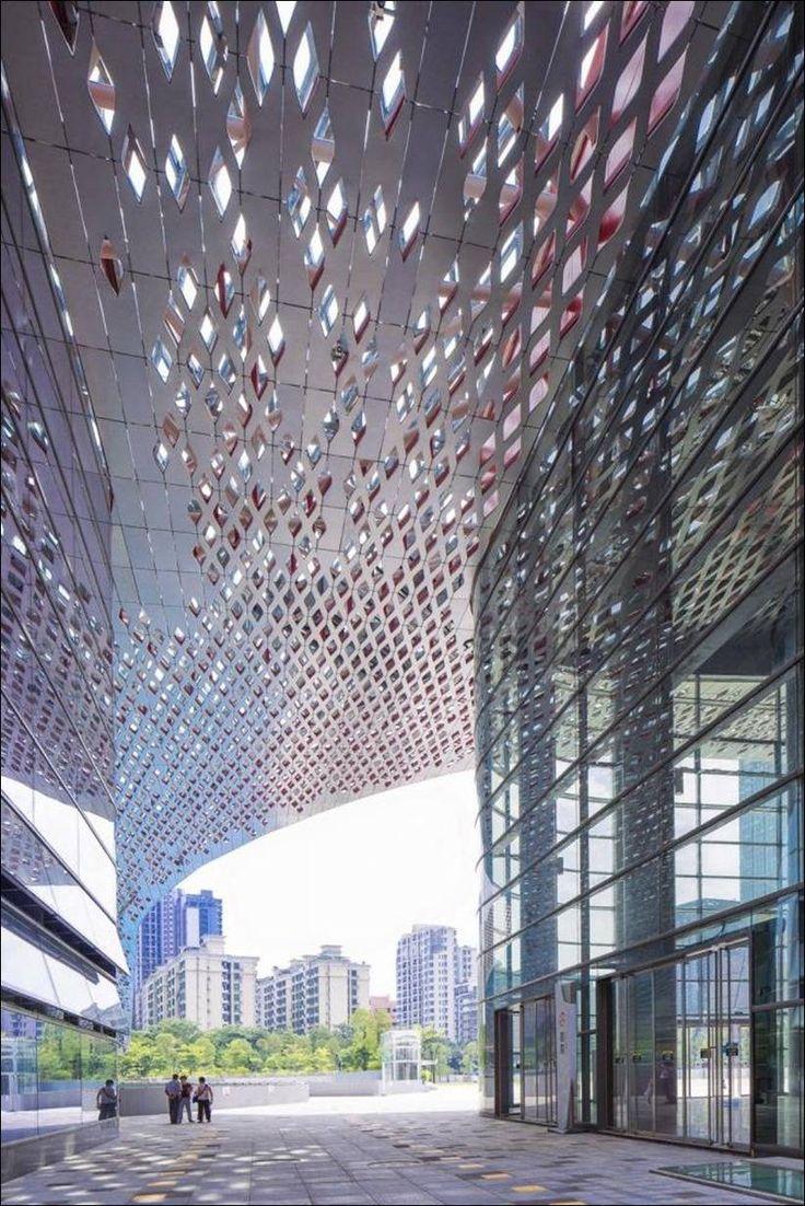 Культурный центр Наньшань в Шэньчжэне, Китай от студии ZOBOKI-DEMETER и Associates Architects
