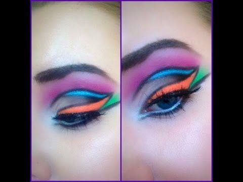 Geometric Eye Makeup Sleek I Divine Acid 10L1P
