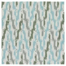 Kaleen Habitat Ivory Square Indoor/Outdoor Handcrafted Southwestern Area Rug (Common: 6 X 6; Actual: 5.75-Ft W X 5.75-Ft