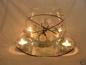 Fish bowl centrepiece white flowers and tea lights adds gold and table clothes napkins or · Wedding Table CentrepiecesTable CenterpiecesTable ... & 22 best Royal Blue \u0026 Gold wedding fish bowl table centre ideas ...