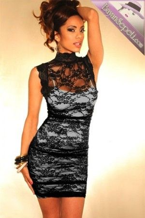 Şık Mini Elbise   Bayan Sepeti