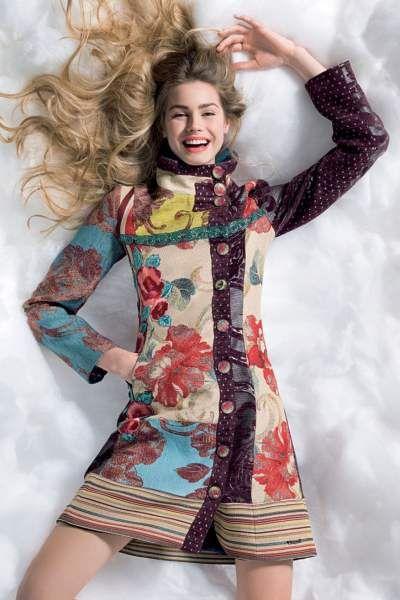 abrigo luciole de mujer desigual otoño invierno 2013 2014                                                                                                                                                                                 Más