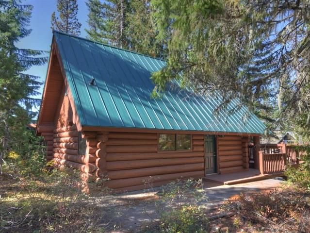Log home lovers This well built Government Camp home comes furnished and its a short walk to restaurants and stores. Great room with high vaulted ceilings big log beams and open kitchen dining area and living room. One bedrooms is on the main level. A loft over the living room is a second bedroom. All bedrooms are non-conforming. On the lower level theres a toe warming pellet stove a bonus room that the current owner uses as a sleeping room a bathroom and laundry area. An outside storage…