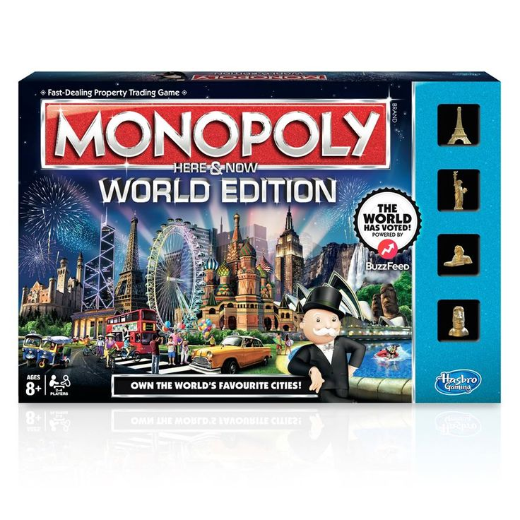 Monopoly Here & Now World Edition Game image-0