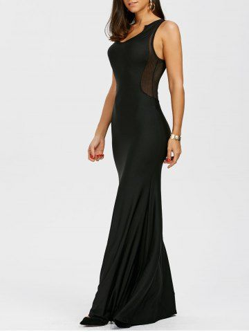 GET $50 NOW | Join RoseGal: Get YOUR $50 NOW!http://www.rosegal.com/maxi-dresses/mesh-panel-sleeveless-racerback-maxi-1145447.html?seid=9320315rg1145447