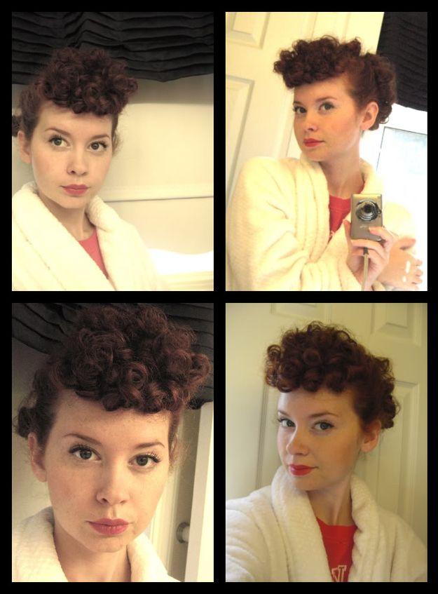 Lucille Ball Hair | 21 Easy Hair And Makeup Ideas For Halloween