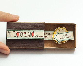 Cute Love Card/ Cute Anniversary Card/ Love Card I by 3XUdesign