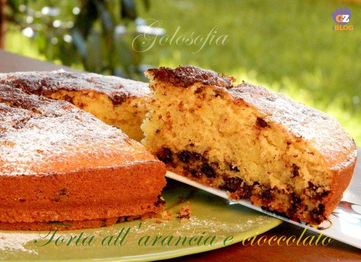 Torta soffice arancia e cioccolato, un dolce morbido e profumatissimo!