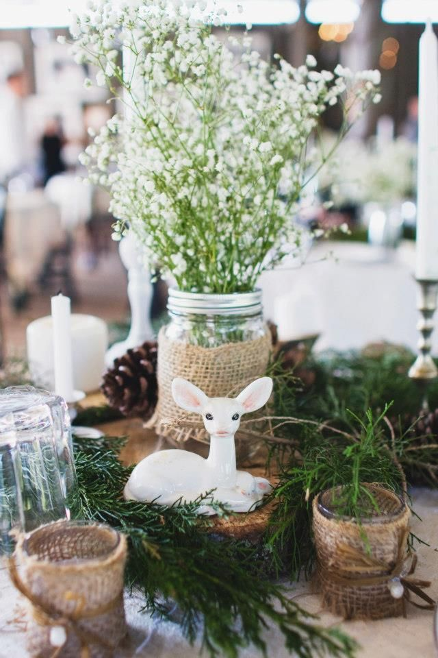 Dear rustic diy wedding centerpiece january