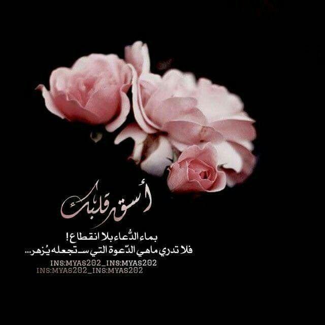 اسق قلبك بماء الدعاء بلا انقطاع Arabic Quotes Islamic Quotes Place Card Holders