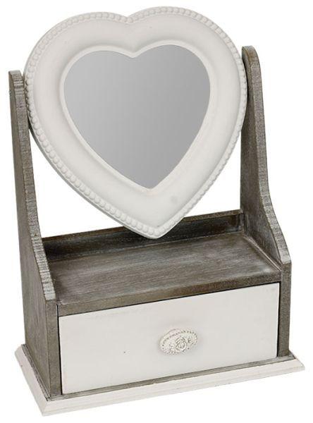 Dřevěná šperkovnice ARD716394 | Nábytek ATAN