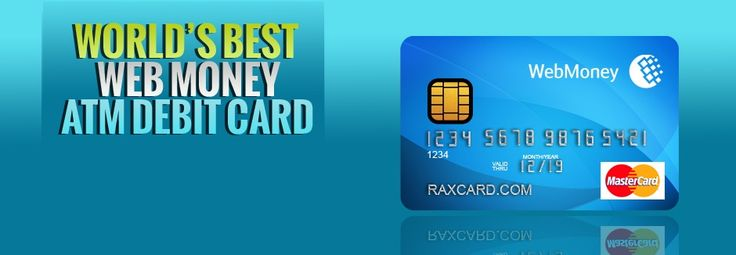 RAXcard Web Money debit card can be used to withdraw money from ATM and for purchase at shops, websites, service stations, restaurants and different places. This is best option, if you country's bank do not offer any kind of debit or credit card for online shopping or global use.
