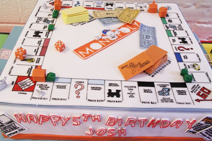 Monopoly-inspired Party