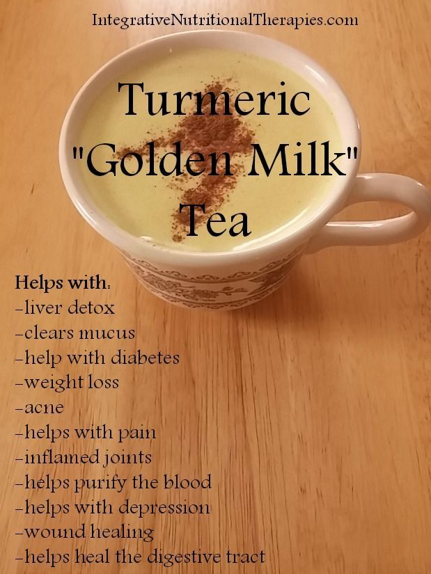 Turmeric Tea Tall