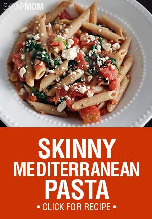 This pasta dish is covered in feta, olives, spinach and the best oils for a perfect representation of the Mediterranean classics.