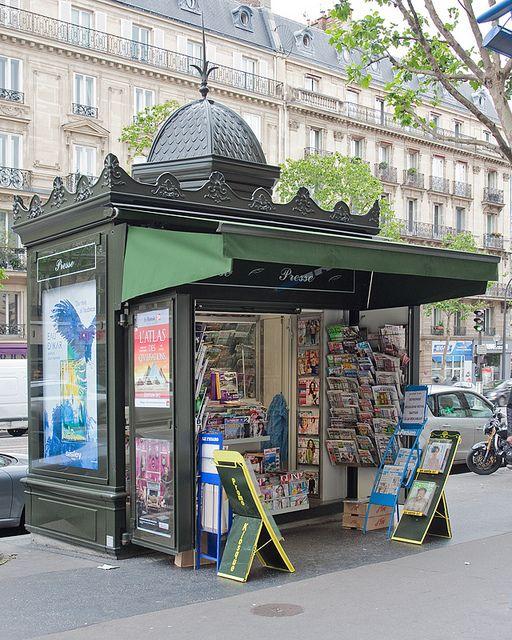 Newspaper Stand - Paris