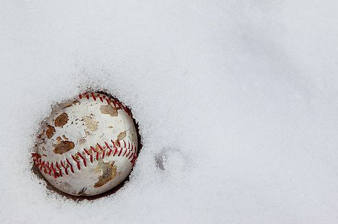 """There are only two seasons – winter and Baseball."" And baseball is coming...    (Unless you work in baseball, in which case it's ALWAYS baseball season. I probably follow it more closely in the winter than I do the season.)"