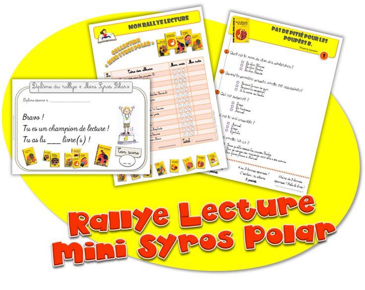Rallye-lecture - Mini syros Polar - Journal de bord d'une instit' débutante